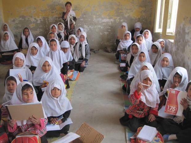 Afghan girls