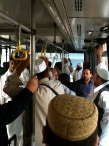Terminal to plane on a bus