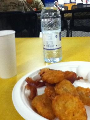 DFAC breakfast